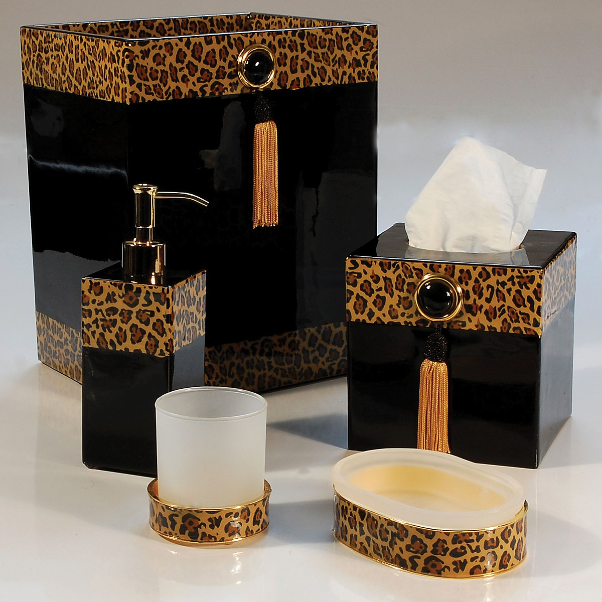 Badezimmer Set Pierre Leopard Bathroom Decor Bathroom Decorations Animal