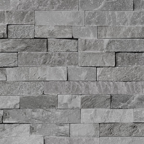 3d Brick Wallpaper South Africa Grey Split Stone Bathroom Cladding Direct
