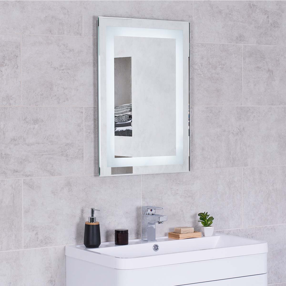 Bathroom Mirror Replacement Designer Illuminated Led Bathroom Mirrors With Demister