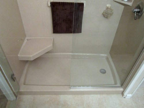 Medium Of Custom Shower Pan