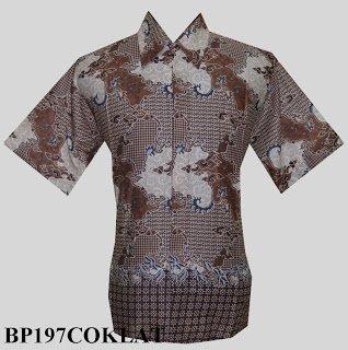 Koleksi Baju Kemeja Batik Pria Modern Terbaru Solo Pekalongan Line