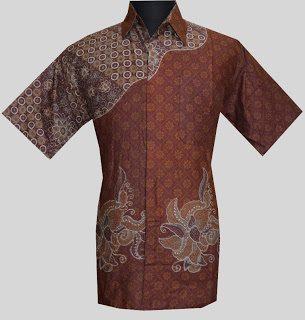 Detail Batik Dress Pasangan Model Baju Batik Kantor A