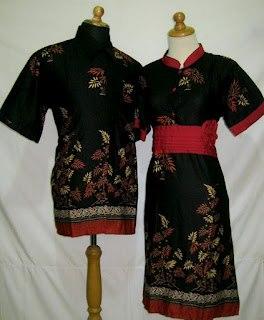 D Ungu Sarimbit Batik Model Dress Kancing Depan Belakang Karet Rp
