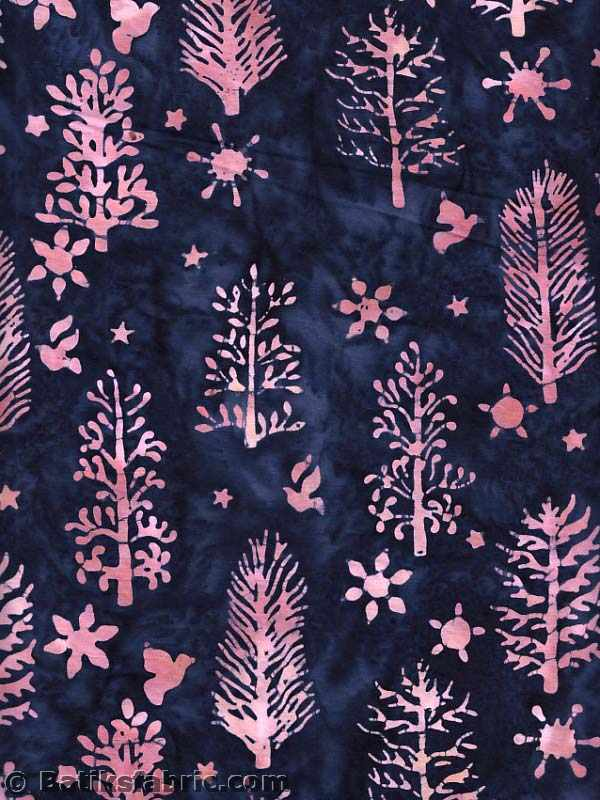 Pink and Darkblue Spruce-Dove-Star