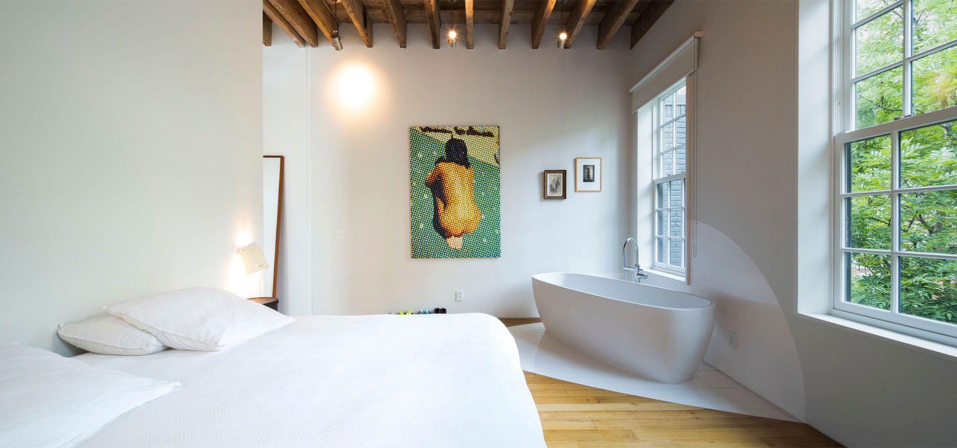 Salle De Bains Houzz | Stéphanie Coutasstephanie Coutas Reinvents ...
