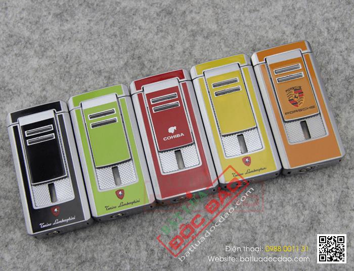 Bật lửa khò hút Cigar chính hãng Cohiba loại 3 tia lửa cực mạnh - Mã SP: BLH042