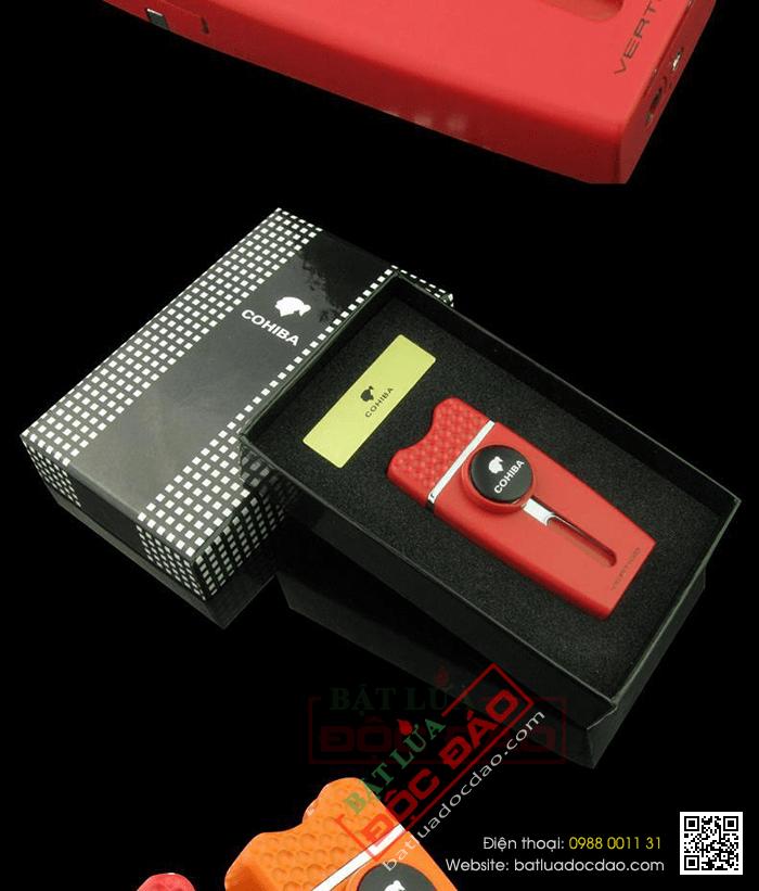 Bật lửa khò hút Cigar (xì gà) cohiba chính hãng loại 1 tia lửa - Mã SP: BLH071