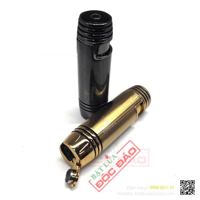 Bật lửa khò hút Cigar (xì gà) cohiba chính hãng loại 1 tia lửa có thiết bị đục xì gà - Mã SP: BLH088
