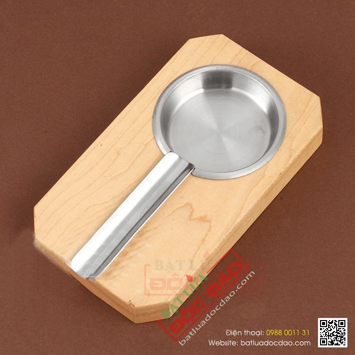 Gạt tàn Cigar (xì gà) Cohiba chất liệu gỗ, kim loại cao cấp - Mã SP: FY1140