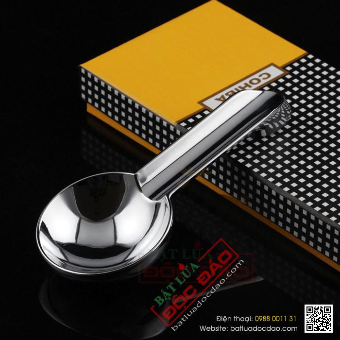 Gạt tàn Cigar (xì gà) Cohiba chất liệu kim loại cao cấp chính hãng - Mã SP: AT119