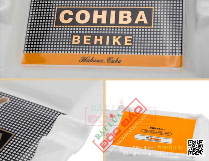 Gạt tàn Cigar Cohiba chính hãng loại 2 điếu - Mã SP: 510-4A
