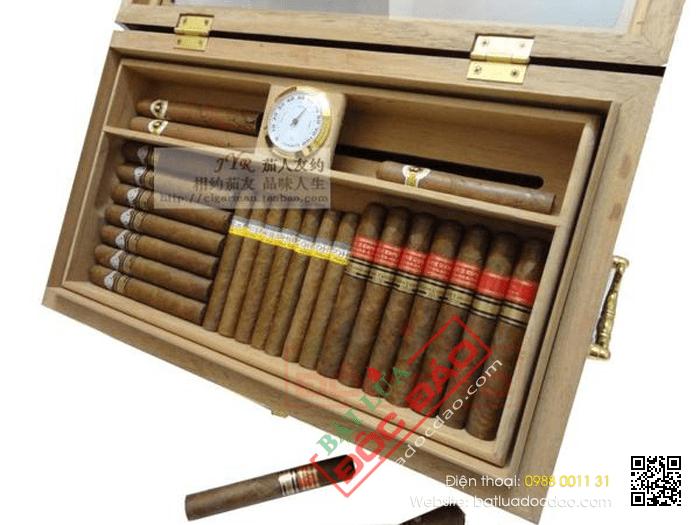 Bán hộp bảo quản xì gà Cohiba OEM H958 (1 năm bảo hành, free ship)