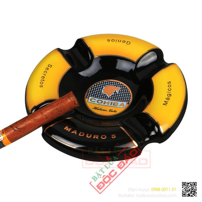 Gạt tàn Cigar (xì gà) Cohiba chính hãng loại 4 điếu - Mã SP: G408