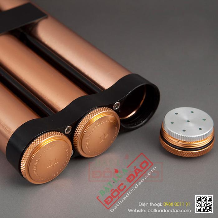 Ống đựng Cigar Cohiba chính hãng loại 3 điếu - Mã SP: D015