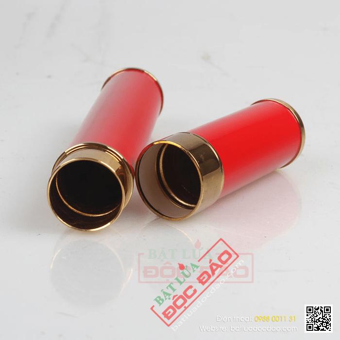 Mẫu ống đựng xì gà 1 điếu, màu đỏ hãng Cohiba bán chạy nhất (D014B)