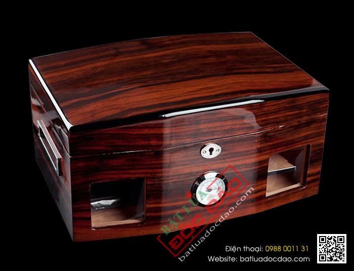 Hộp giữ ẩm Cigar Cohiba cao cấp - Mã SP: H696