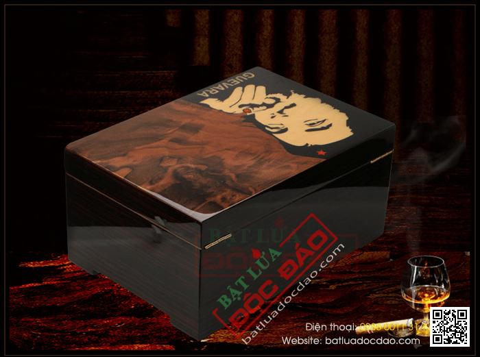 Hộp đựng Cigar Guevara cao cấp - Mã SP: RAG - 8102C