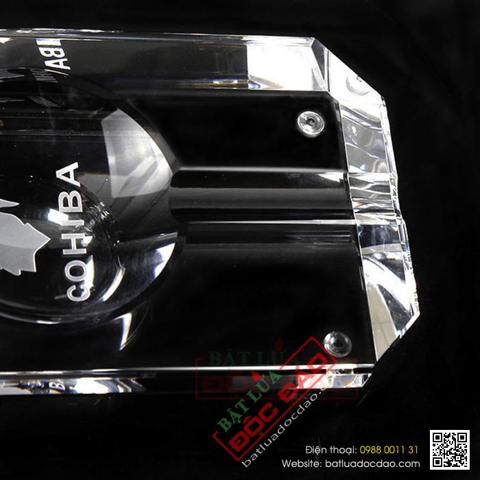 Gạt tàn Cigar Cohiba chất liệu pha lê cao cấp - Mã SP: GT006