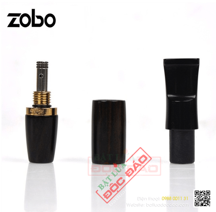 Tẩu lọc hút thuốc lá Zobo màu đen cao cấp - Mã SP: ZB215
