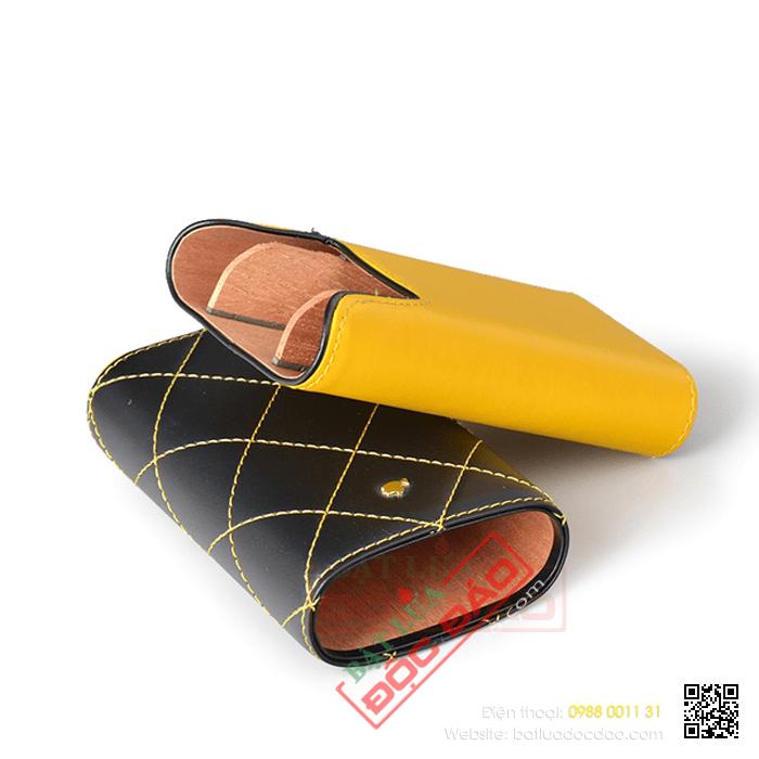 Bao da đựng Cigar Cohiba loại 3 điếu chính hãng - Mã SP: 5309L
