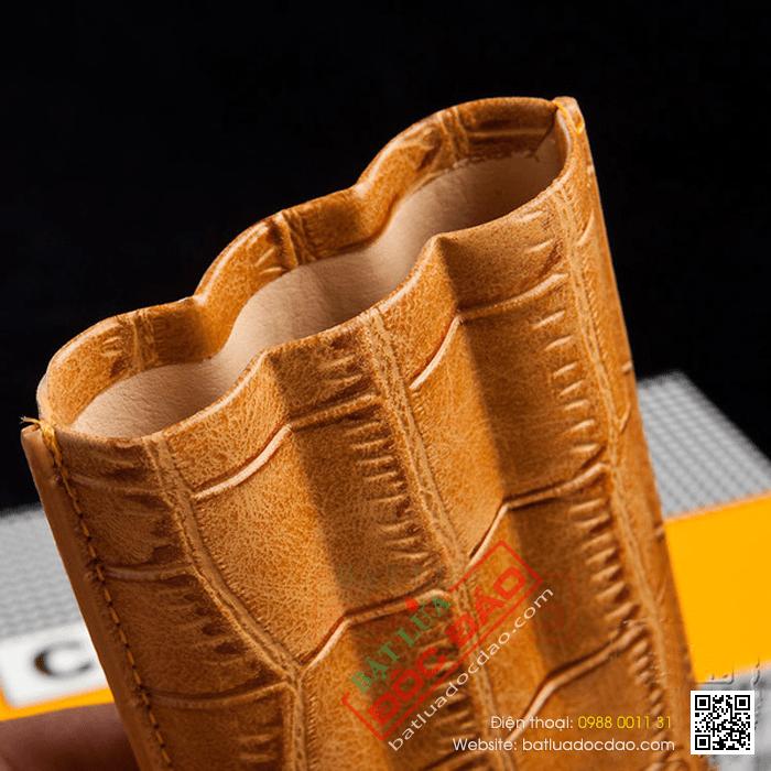Bao da đựng Cigar Cohiba chính hãng loại 3 điếu - Mã SP: HY1328L