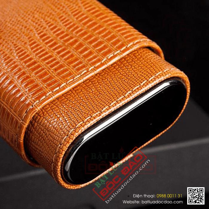 Bao da đựng Cigar Cohiba chính hãng loại 3 điếu - Mã SP: P3038