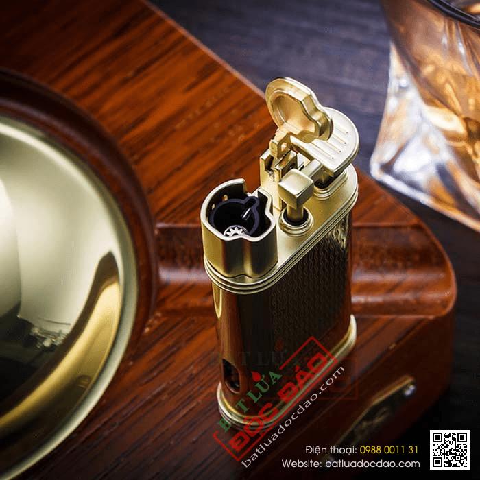 Set gạt tàn xì gà, bật lửa khò hút xì gà chính hãng Lubinski - Mã SP: LBG27