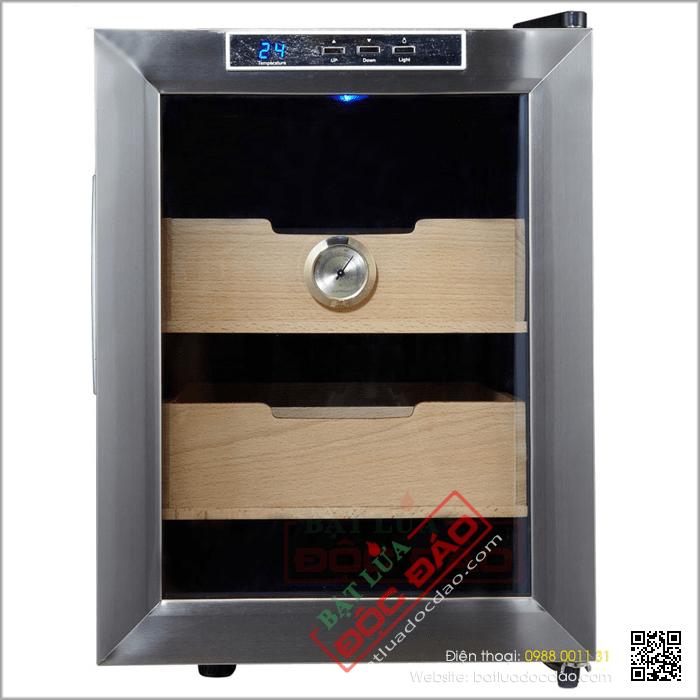 Tủ bảo quản Cigar (xì gà) cắm điện 2 tầng cao cấp - Mã SP: H828