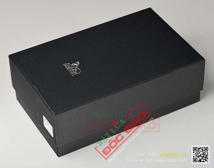 Set hộp giữ ẩm xì gà 4 điếu có dao cắt và bật lửa Lubinski Mã SP: S004