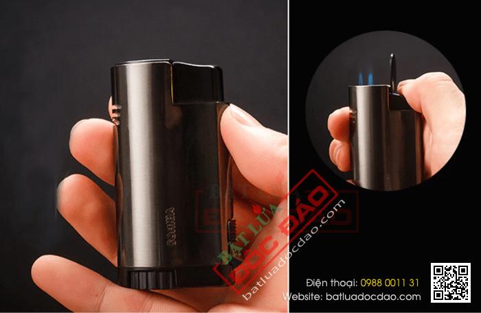 Bật lửa khò hút xì gà Cohiba 3 tia kèm đục - Mã SP: COB27