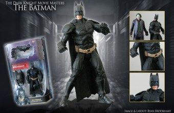Mattel&#039;s Batman action figure from &#039;The Dark Knight&#039;