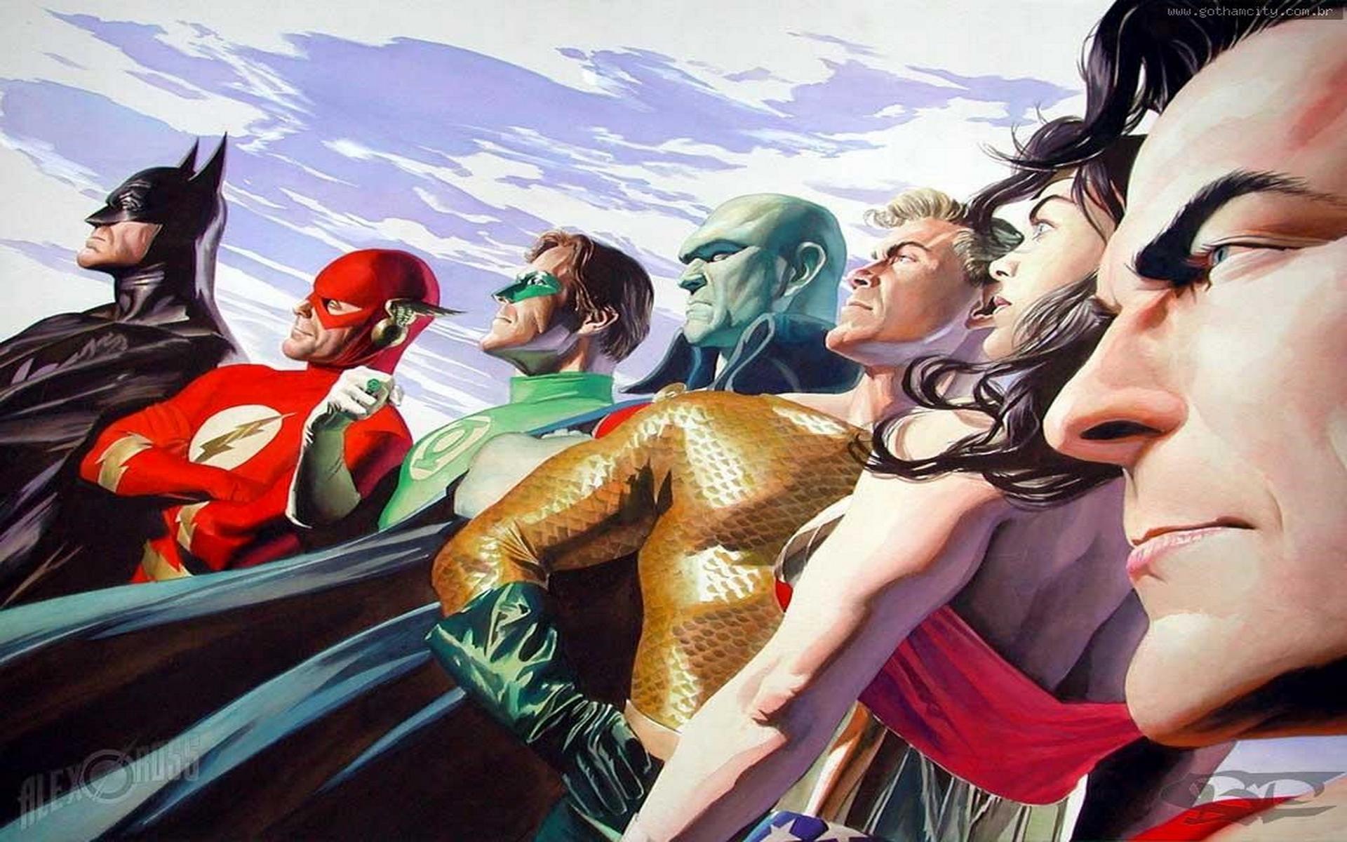 JLA Alex Ross dc comics 663195