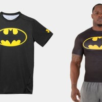Batman and Superhero T-shirts available now from Under Armour