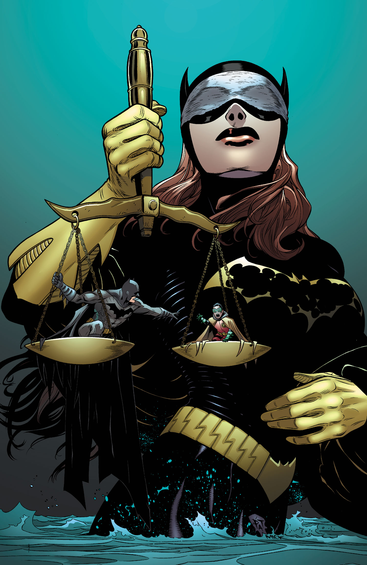 Batgirl Defeated And it's batgirl's turn at