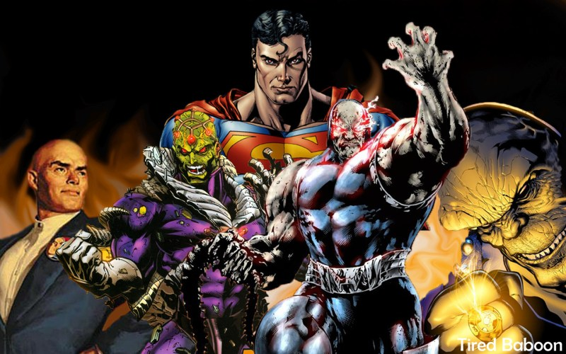 Villains_of_Superman_by_TiredBaboon