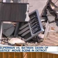 Wayne Enterprises logo revealed in helicopter view of 'Batman v Superman: Dawn of Justice' set (video)