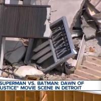 Wayne Enterprises logo revealed in helicopter view of 'Batman v Superman: Dawn of Justice' set (video)