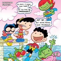 Tiny Titans: Return to the Treehouse #4 review