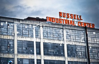 russell-industrial-center-sign