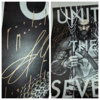 Jason Momoa signs fan's Aquaman poster with caption 'F**k Marvel' (photo)