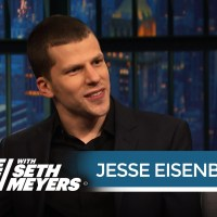 Jesse Eisenberg says shaving his head for Lex Luthor in 'Batman v Superman' was terrifying (video)