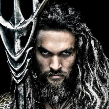 Jason Momoa is ready to go in new photo from the 'Justice League' studios in London