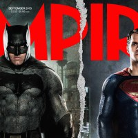 Batman and Superman grace the latest issue of Empire magazine
