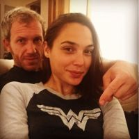 Gal Gadot just took a selfie in a Wonder Woman shirt (photo)