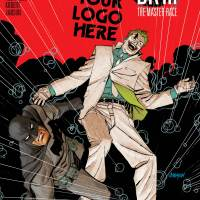 """""""Dark Knight III: The Master Race #1"""" variant cover features The Joker"""