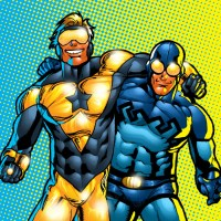 Report: Warner Bros. is working on a Booster Gold/Blue Beetle team-up movie