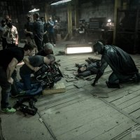 Batman takes out a thug in epic new 'Batman v Superman' images