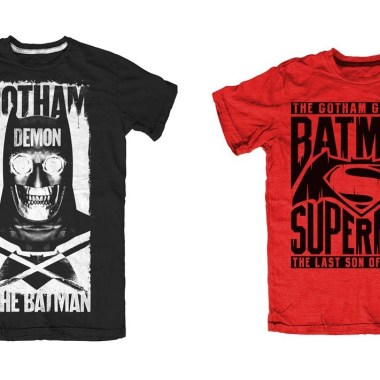 First official 'Batman v Superman' t-shirts available for pre-order now