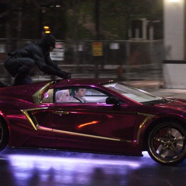 Behind-the-scenes look at Jared Leto's Joker car in 'Suicide Squad' (video)