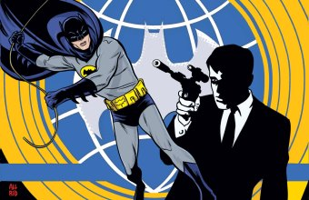 Batman 66 Meets the Man From U.N.C.L.E.